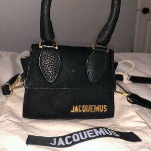 Jacquemus black chiquito bag